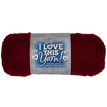 Cranberry I Love This Yarn