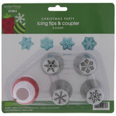 Snowflake Russian Decorating Tips & Coupler