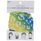 Rainbow Leopard Multi-Use Headwear