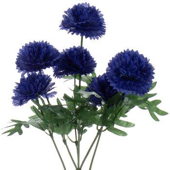 Blue Cornflower Stem