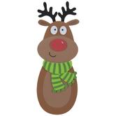 Reindeer Candy Cane Holder Foam Craft Kit