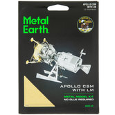 Apollo CSM With LM Metal Earth 3D Model Kit
