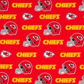 NFL Kansas City Chiefs Cotton Fabric
