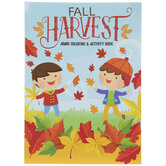 Fall Harvest Jumbo Coloring & Activity Book