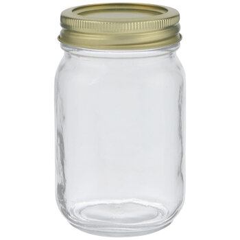Glass Mason Jar 16 Ounce Hobby Lobby 80731561