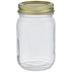Glass Mason Jar - 16 Ounce