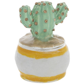 Potted Cactus Jewelry Box