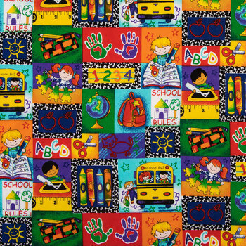 Kinder Kids Patch Cotton Calico Fabric