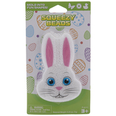 White Bunny Squeezy Beads