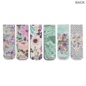 Floral Faith Magnetic Bookmarks