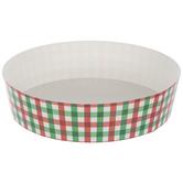 Red & Green Plaid Cake Pans