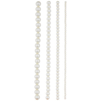 Glass Pearl Bead Strands
