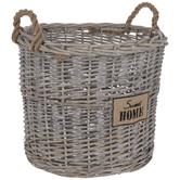 Sweet Home Wicker Basket