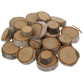 Birch Wood Discs