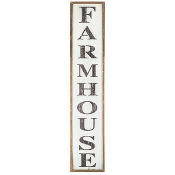 Farmhouse Vertical Wood Wall Decor