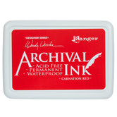 Carnation Red Archival Ink Pad