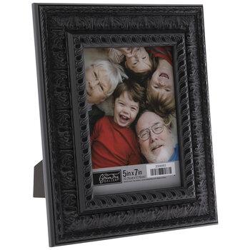 Black Ornate Scroll Frame