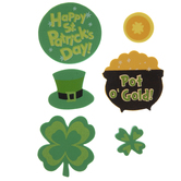 St. Patrick's Day Foam Stickers