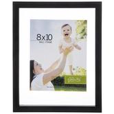 "Black Ridged Float Wall Frame - 8"" x 10"""