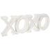 Whitewash XOXO Decor