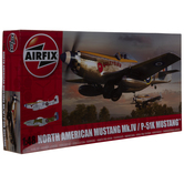 North American P-51K Mustang Model Kit