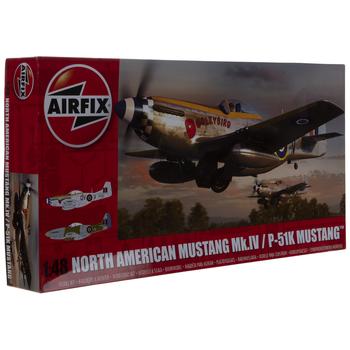 North American P-51K Mustang Model Kit