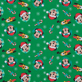 Christmas Mickey Mouse & Friends Cotton Fabric