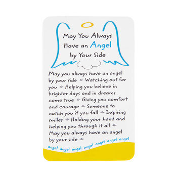 Angel By Your Side Wallet Card