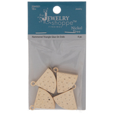 Hammered Triangle Charms