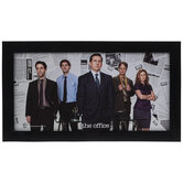 The Office Cast Wood Wall Decor