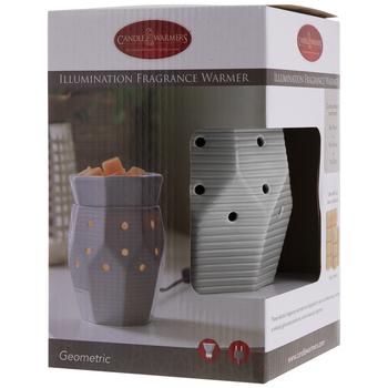 Striped Geometric Fragrance Warmer