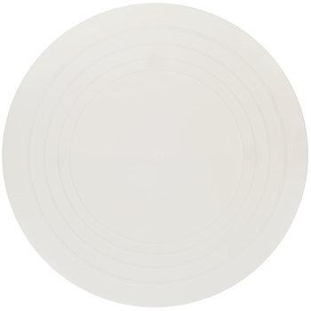 "White Round Cake Separator Plate - 16"""