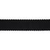 Black Scalloped Edge Grosgrain Ribbon - 2