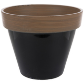 Two-Tone Flower Pot