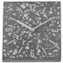 Terrazzo Mosaic Tilted Clock