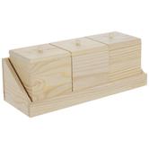 Boxes & Shelf Wood Wall Decor