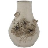 Cream Flower Vase
