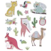 Animals & Flowers Stickers