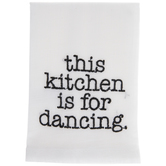 Kitchen Is For Dancing Cloth Napkin