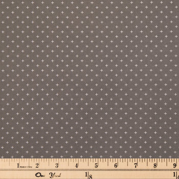 Mini Plus Signs Cotton Calico Fabric