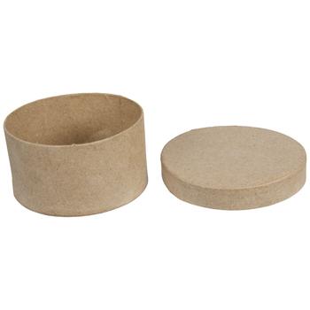 Round Paper Mache Boxes - Medium