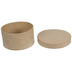Round Paper Mache Boxes - Medium
