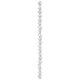 Asymmetrical Glass Bead Strand