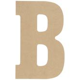 "Wood Letter B - 13"""
