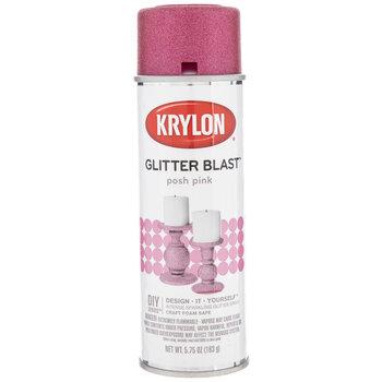 Posh Pink Krylon Glitter Blast Spray Paint