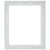 Cream White Ornate Open Wood Frame - 16