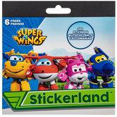 Super Wings Stickerland Stickers