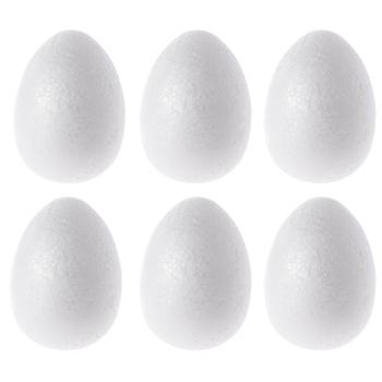 Smooth Foam Eggs - Small