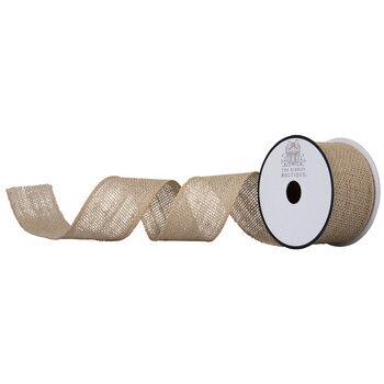"""Natural Burlap Ribbon - 2"""""""