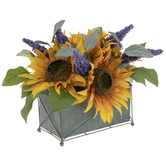 Sunflower & Lavender Arrangement